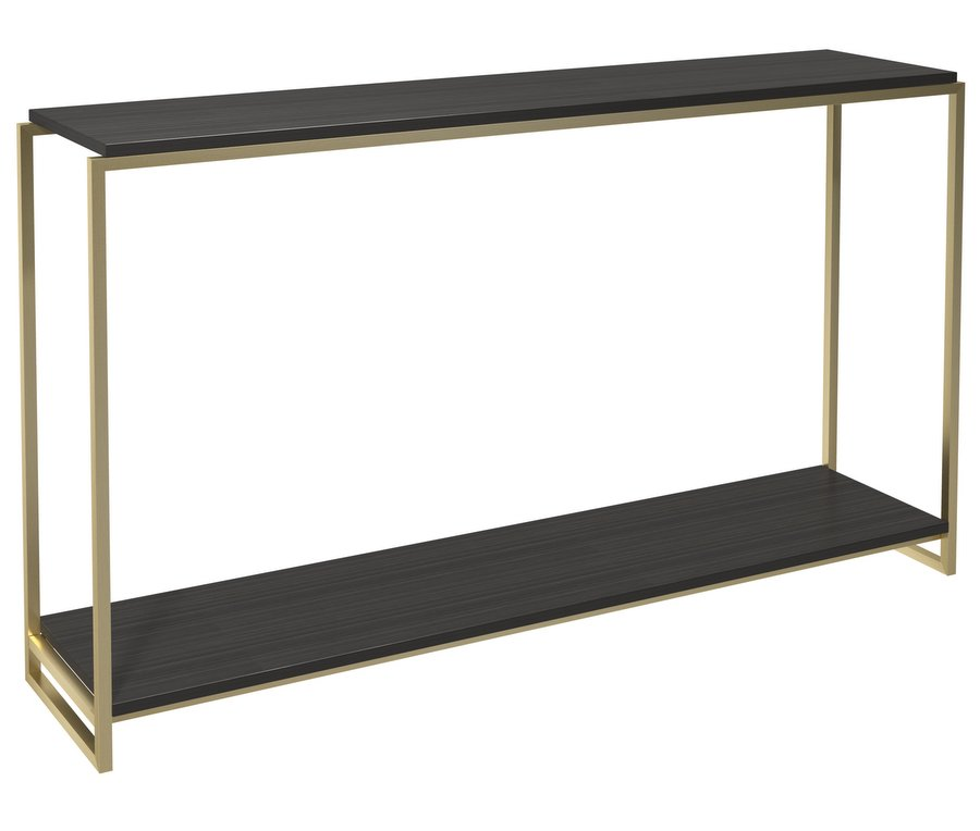 Federico Console Table Brushed Brass Frame