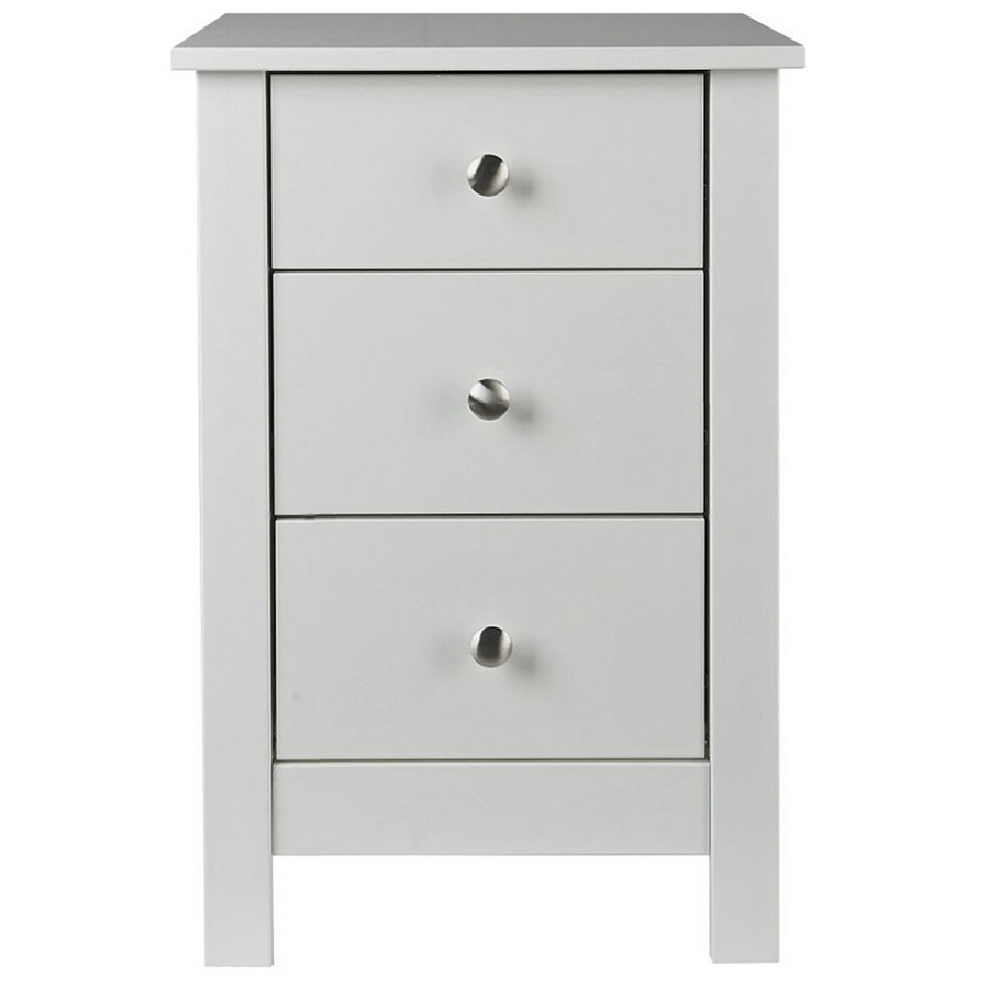 Florence White Bedside Table