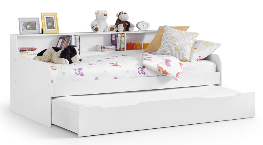 Grace Matt White Daybed with Under-bed