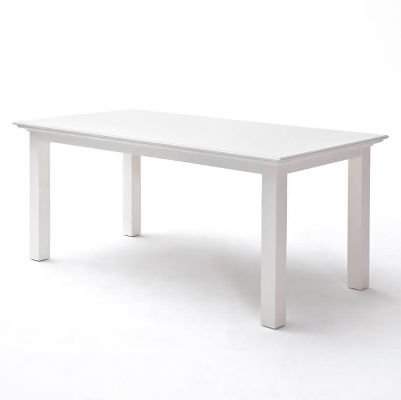 Halifax White 180 Dining Table