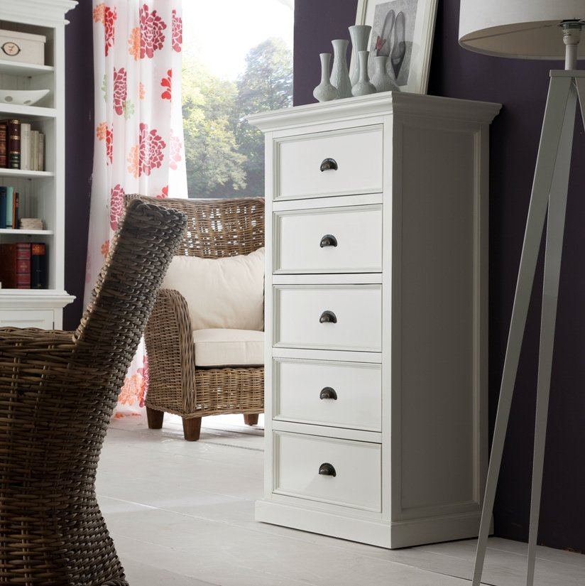 Halifax White Chest of Drawers