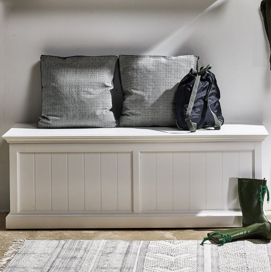 Halifax White Storage Chest