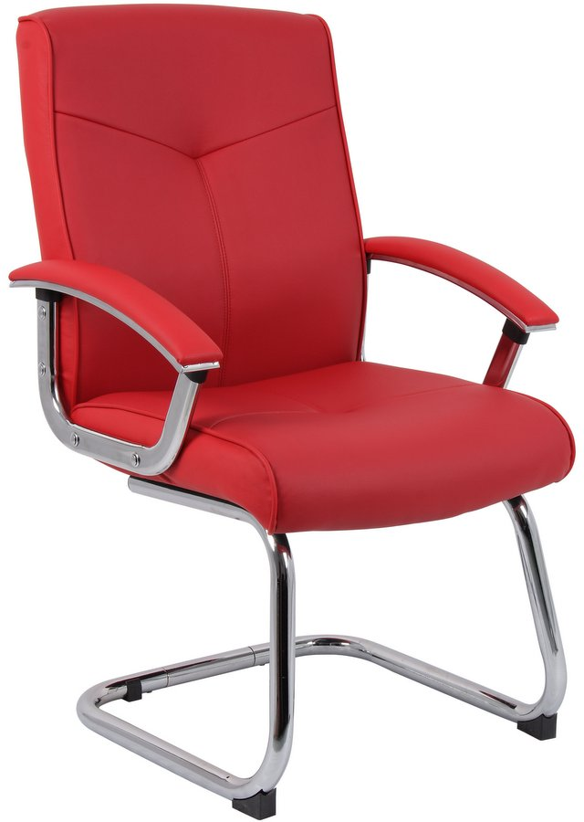 Hoxton Red Visitor Chair