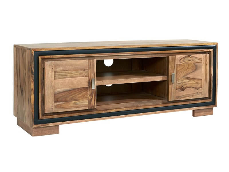 Jodhpur Sheesham TV Media Cabinet - Solid Sheesham Wood