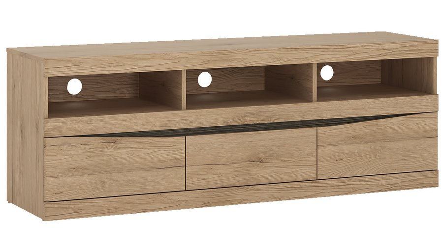 Kensington Wide 3 Drawer TV Unit