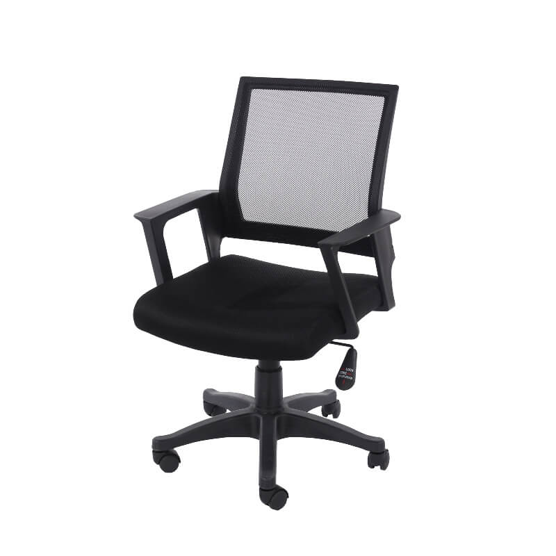 Loft Home Office All Black Study Chair