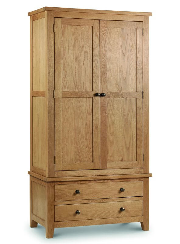 Marlborough Oak Combination Wardrobe