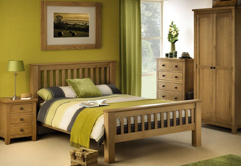 watch 9c7d8 6e5a1 Marlborough Oak Bedroom Set