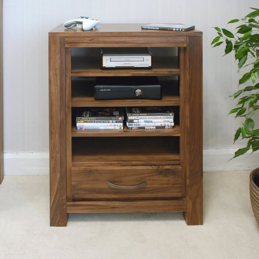 Mayan Walnut Entertainment Cabinet