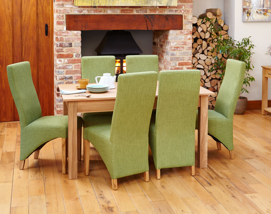 Mobel Oak 150cm Dining Table