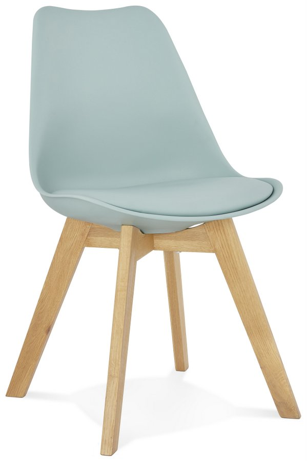 Modern Tylik Dining Chair With Wooden Legs