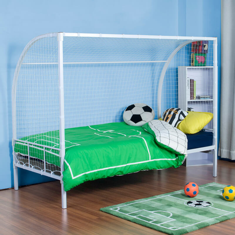 Contract Specification No Bolt Metal Football Goal Bed