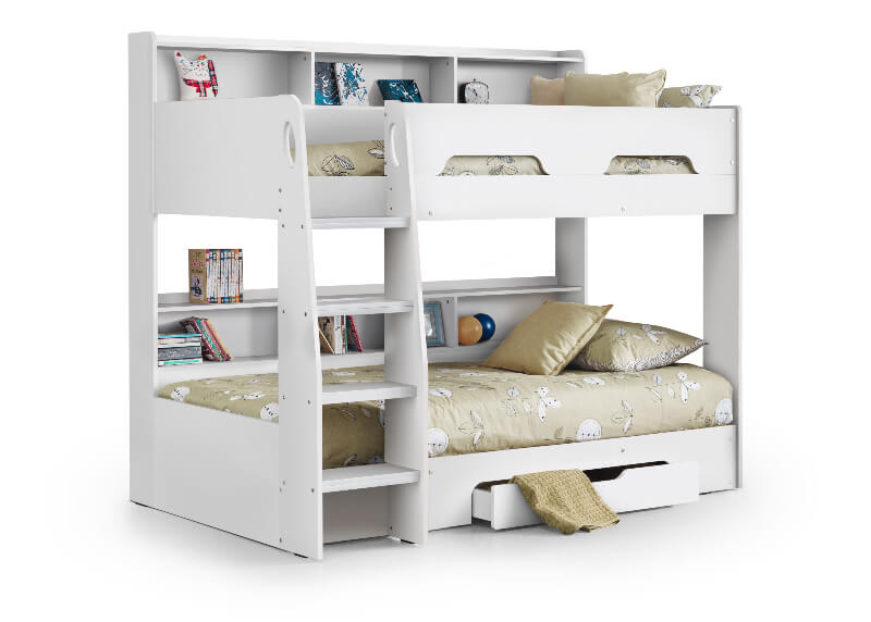 Orion Bunk Bed - White Finish