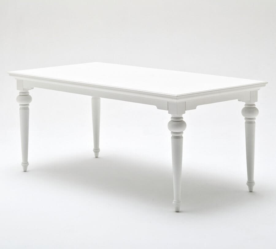 Provence White 180 Dining Table