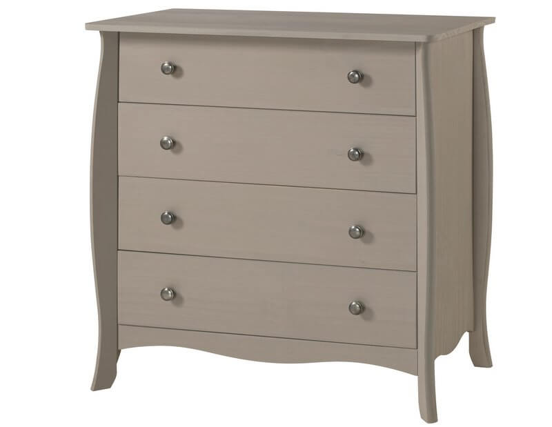 Provence Grey 4 Drawer Chest