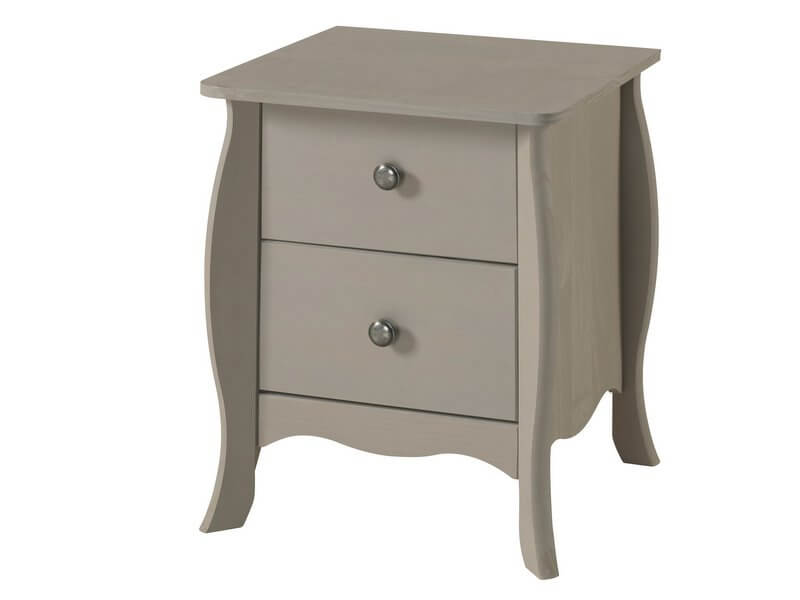 Provence Grey Bedside Table