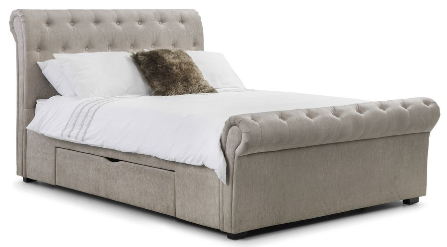 Ravello Storage Bed with 2 Drawers - Double