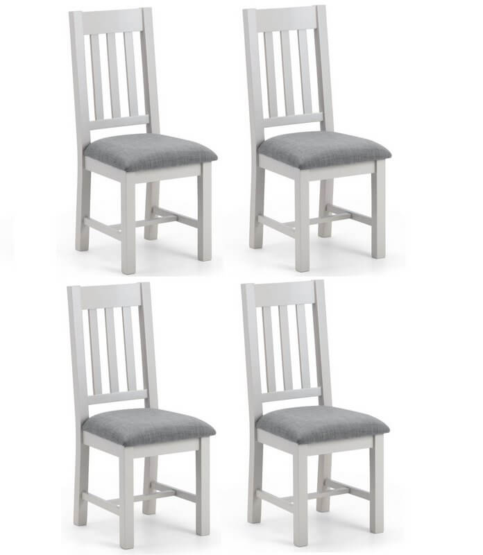 Awesome Richmond Soft Grey Oak Dining Chairs Set Of 4 Cjindustries Chair Design For Home Cjindustriesco