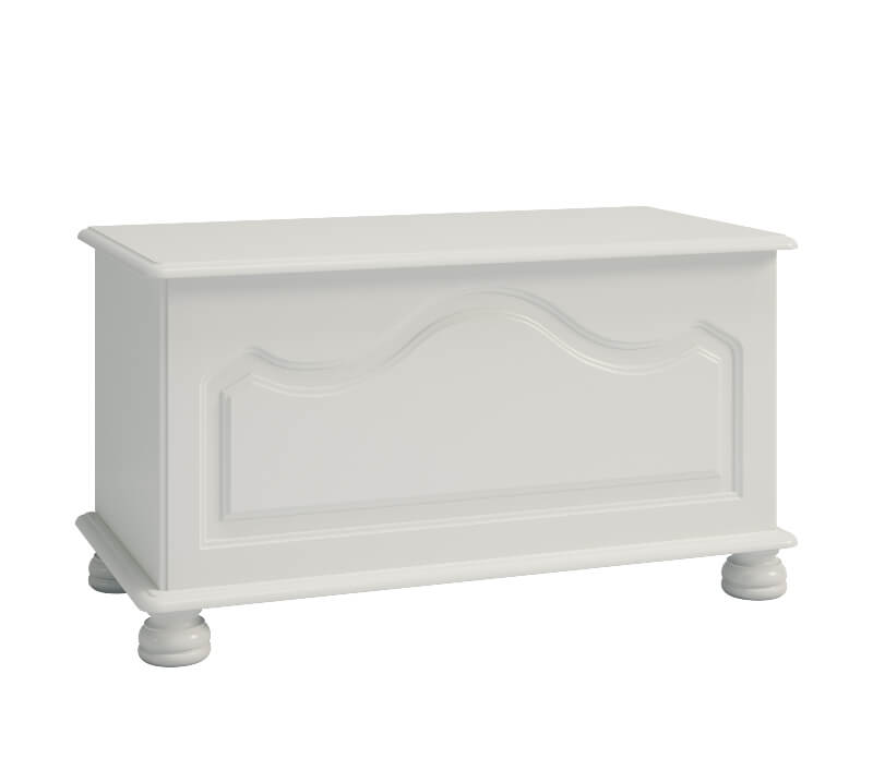 Richmond White Ottoman