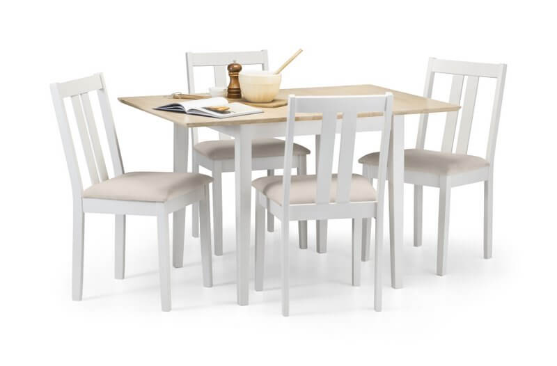 Abdabs Furniture Rufford Two Tone Dining Table And Chairs