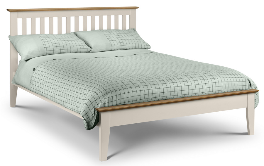 Salerno Two Tone Bed Frame - Double