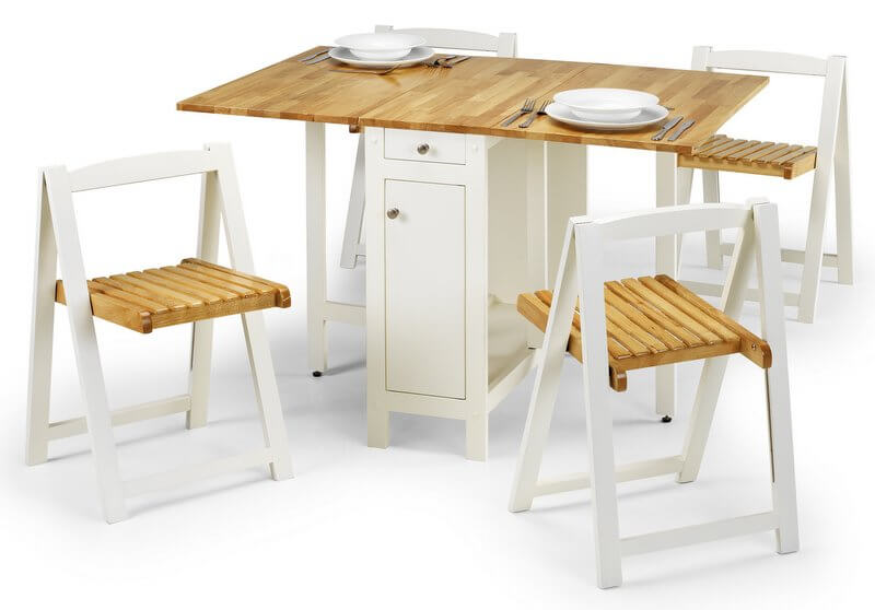 Savoy Butterfly Dining Set - with 4 Chairs