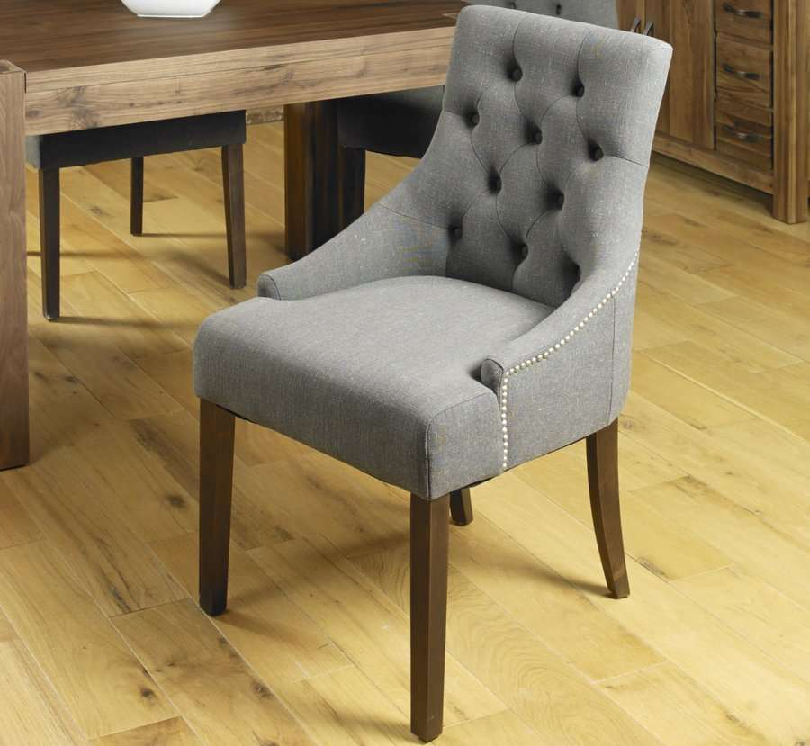 shiro accent upholstered dining chairs pair