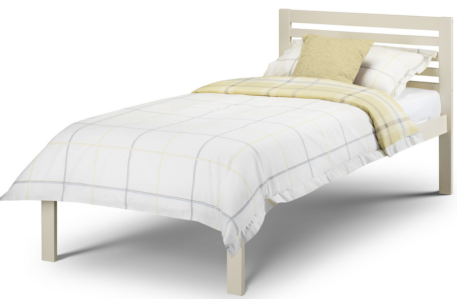 Slocum Bed Stone White - Single
