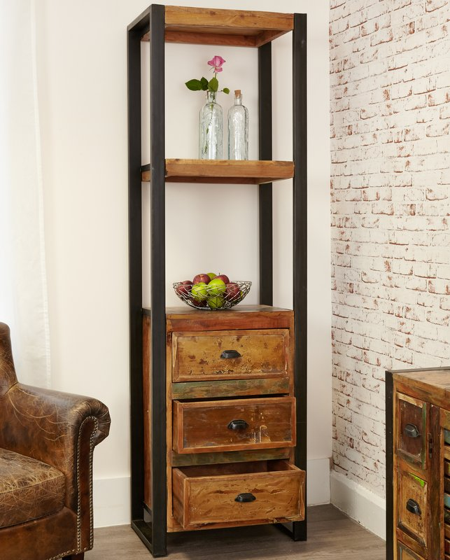 Urban Chic Alcove Bookcase With Drawers