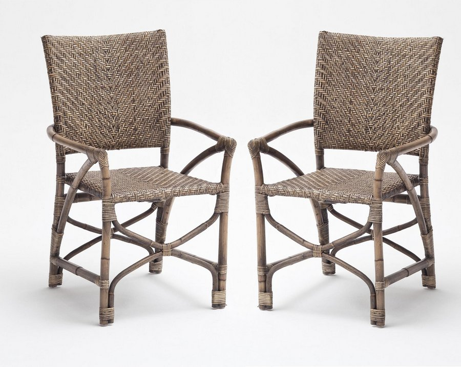 Wickerworks Countess Chair - Set of Two