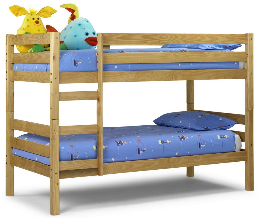 Wyoming Bunk Bed with Mattresses