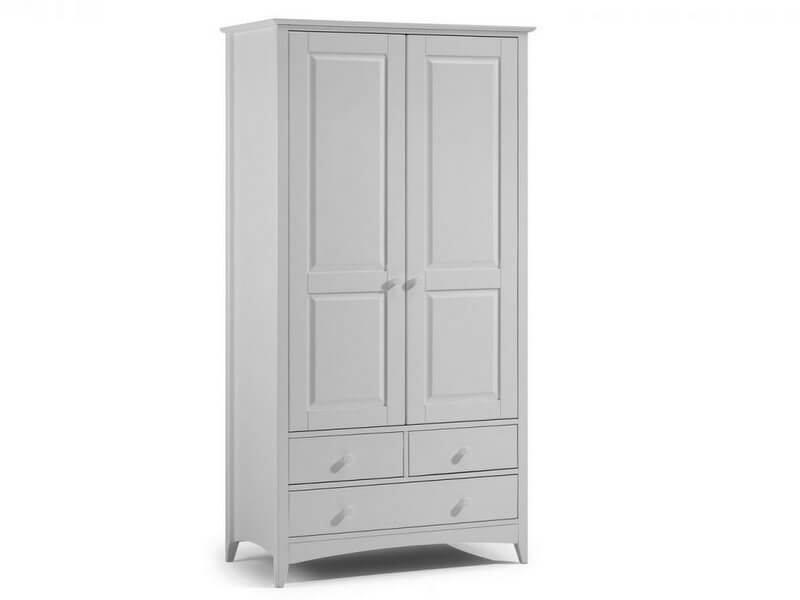 Cameo Dove Grey Combination Wardrobe
