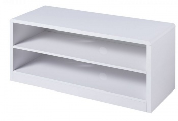 Manhattan High Gloss White Compact TV Unit