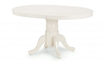 Stamford Round to Oval Extending Ivory Dining Table